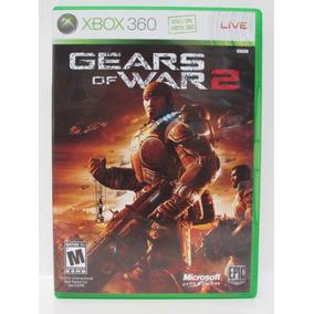 Gears Of War 2 - Game Xbox 360 Original Completo Mídia Físic