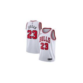 d47ec1b10 Regata Chicago Bulls Branca - Camisetas e Blusas no Mercado Livre Brasil