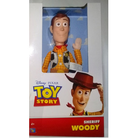Toy Story Woody Suave Thinkway Toys Tamaño Real Con Sombrero 647d26207bc
