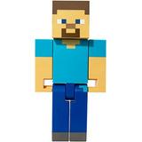 Hot Wheels Minecraft Gran Escala Figura De Accion De Steve