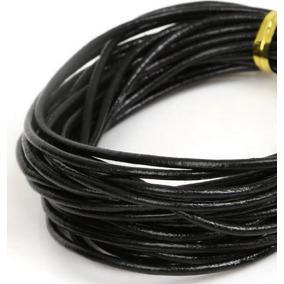 dffb032c0301 Cordón Cuero Genuino Redondo 4.9mx2mm Fabricación Bricolaje