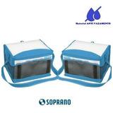 Bolsa Térmica Tropical 20l Soprano Azul