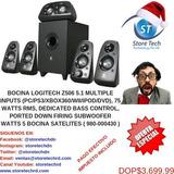 Bocina Logitech Z506 5.1 Multiple Inputs (pc/ps3/xbox360/wii