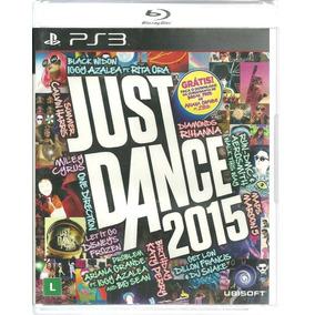 Just Dance 2015 Ps3 Original Lacrado Mídia Física Português