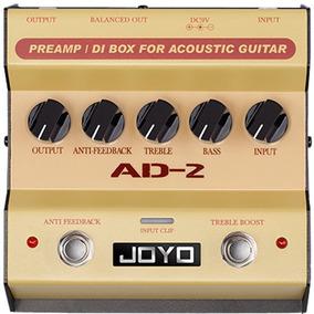 Pedal Joyo Ad-2 | Preamp E Direct Box | Para Violão
