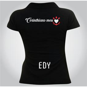 3cf2c8d489087 Camisa Personalizada Feminina Corinthians Seu Nome