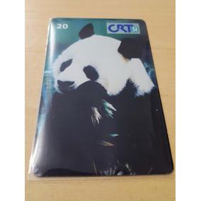 Cartão Panda Gigante Crt Raro