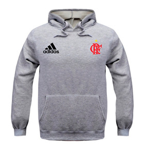 Casaco Braziline Flamengo Com Capuz - Moletom Masculinas Prateado no ... fa24c85c92a6f