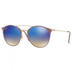 0a9d82ca92d40 Óculos De Sol Ray-ban Rb3546 90118b Dour Marrom - Refinado
