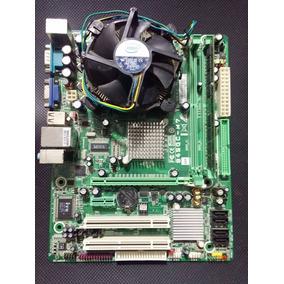 Tarjeta Madre Biostar775 Ddr2 +procesador + Ram
