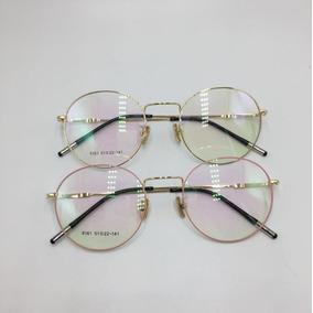 Armação Óculos De Grau Dourada Armacoes - Óculos Rosa no Mercado ... 9e27ed2de0