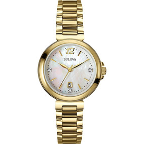 ed60800205b Relógio Bulova Wb 29750 M Feminino Social Analógico - Relógios no ...
