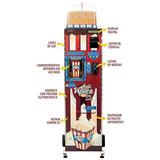Máquina De Venda De Pipoca Vending Machine Mais Pipoca