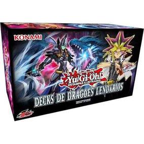 Yu-gi-oh! Decks De Dragões Lendários (3 Decks Dentro Do Box)