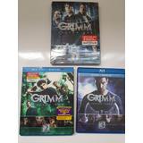 Lote Box Grimm Blu-ray Dvd Original Importado 1 A 3