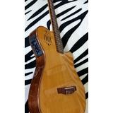 Guitarras Electroacústicas...modelo Tipo Godin. Amarilla!