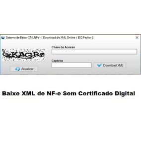 Fontes Baixar Xml De Nf-e Sem Certificado Digital Em Delphi