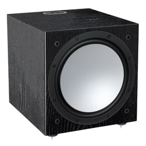 Monitor Audio Silver W-12 Bivolt Black Oak Novo Nfe