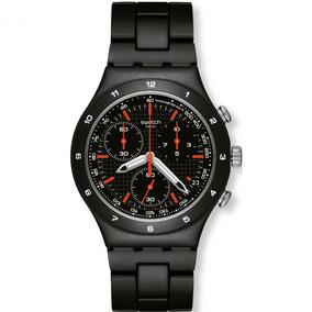 Relógio Swatch - Black Coat - Ycb4019ag