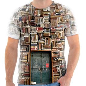 Camisetas Personalizadas Livros - Camisetas e Blusas no Mercado ... 04d58613eef3f