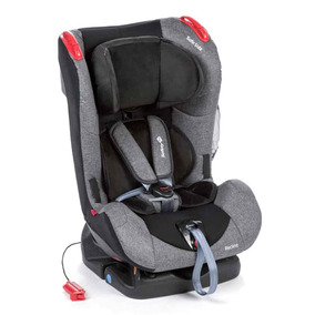 Cadeira Bebê Conforto Reclinável 4 Posições Cinza Recline