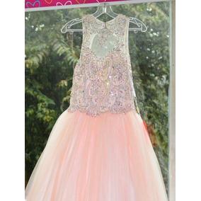 9343041f1 Vestido De 15 Color Rosa - Vestidos Otros para Niñas en Mercado ...