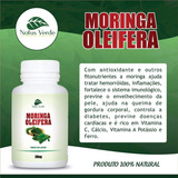 Kit 6 Potes Moringa Olefeira 500mg 100caps Natusverde 600cap