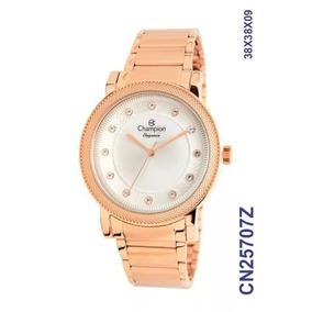 Relogio Feminino Champion Elegance Rose - Relógios De Pulso no ... 44eacf548f