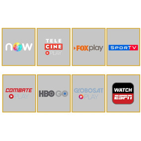 Telecine Play- + Fox Globos.at Espn Envio Imediato1ano