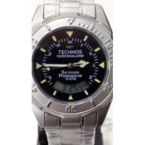 d35db92493a 1p Original Relogio Technos Skydiver Ana Digi Ref T200aa - Relógio ...