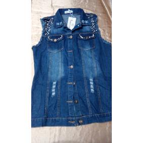 81a7d97d6d Colete Jeans Atacado - Coletes Femininas no Mercado Livre Brasil