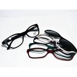 ed6193d44c419 Armação Óculos Smart Troca Frente Gatinho 935 Novas Cores