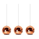 Lámparas Colgantes Leuk Deco Triple Cobre 3 Luces Tom Dixon