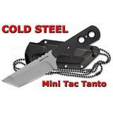 Faca De Pescoço Cold Steel Minitac Tanto Na Caixa