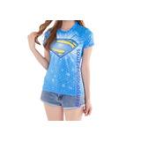 Blusa Termica Feminina Camisa Super Girl Roupa De Academia
