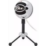 Micrófono Blue Snowball Brush Alumin Condenser Omnidireccion