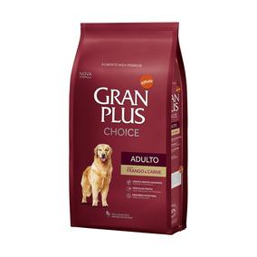 Ração Guabi Gran Plus Choice Adulto Frango E Carne 15kg