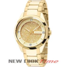 6eb811654f6 Relógio Technos Feminino 2035llt 4x 3 Pulseiras E 3 Argolas ...