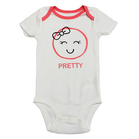Body Manga Curta - Branco - Pretty - Koala Baby - Babies