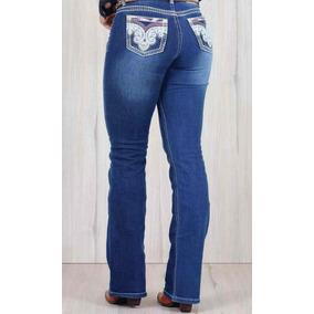 Calca Jeans Country Feminina Os Vaqueiros Ref 3029 Destroyed 711a4e6c2f5