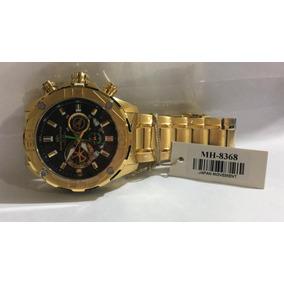 12564920003 Relogio Vip Nautilus Dourado Mostrador Preto - Relógios De Pulso no ...