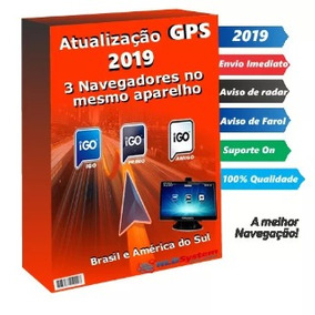 Atualização Gps Aquários 2019