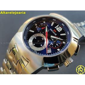 4a7f183c7b1 Relógio Masculino Seculus 44892503d Swiss Made Vidro Safira