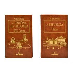 Coleção Os Pensadores A História Da Filosofia E A República