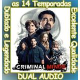 Serie Criminal Minds (1ª Até 14ª Temporada) + Frete Grátis