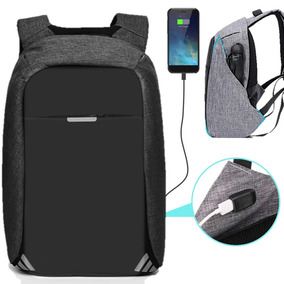 Mochila Backpack Antirobo Original Impermeable Powerbank Msi