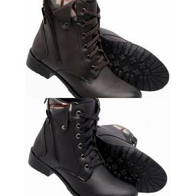 18d0a06b57 Bota   Coturno Feminino Estilo - Sapatos no Mercado Livre Brasil