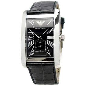 190f5851596 Relógio Empório Armani Ar1641 Quadrado Analógico Marrom - Relógios ...