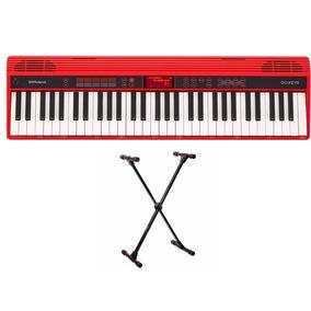 Teclado Roland Go 61k Keys Go 61 Teclas Bluetooth + Suporte