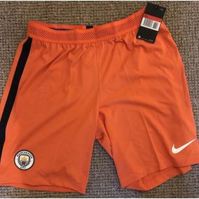 123d4ffb4a Calção Shorts Nike Manchester City 3 De Jogo 16 17 Aeroswift